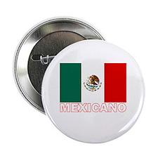 Mexicano Flag (Dark) Button
