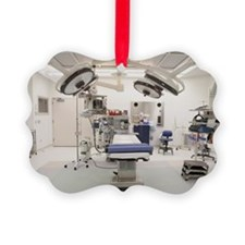 Empty operating room Picture Ornament