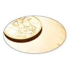 Gold coin Decal