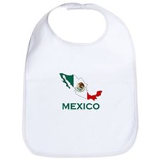 Mexico Map (Light) Bib