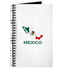 Mexico Map (Light) Journal
