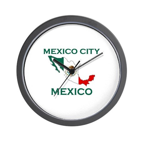 Mexico City, Mexico Wall Clock