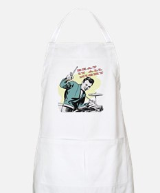 Beat It BBQ Apron