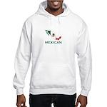 Mexican Map (Light) Hooded Sweatshirt