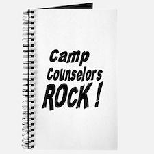Camp Counselors Rock ! Journal