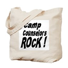Camp Counselors Rock ! Tote Bag