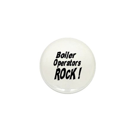 Boiler Operators Rock ! Mini Button (10 pack)