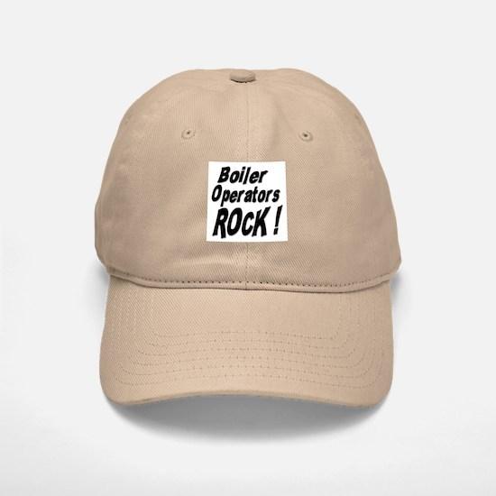 Boiler Operators Rock ! Baseball Baseball Cap