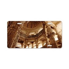 Jain Temple Aluminum License Plate