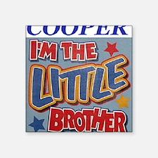 "coopercooper Square Sticker 3"" x 3"""