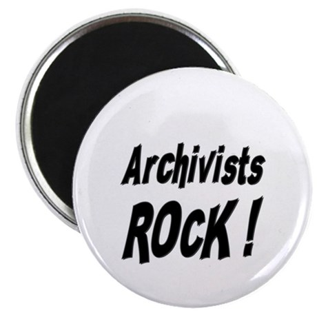 Archivists Rock ! Magnet