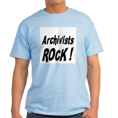 Archivists Rock ! Light T-Shirt