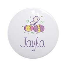 Easter Eggs - Jayla Ornament (Round)