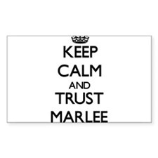 Keep Calm and trust Marlee Decal