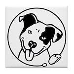 No Ad Poppy Logo Collector Tile Coaster
