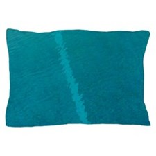 Painted lines in swimming pool Pillow Case