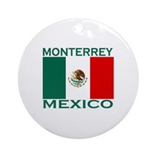 Monterrey, Mexico Ornament (Round)
