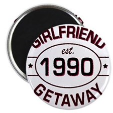 Girlfriend Getaway 1990 custom Magnet