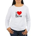 I Love Byron Women's Long Sleeve T-Shirt