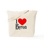 I Love Byron Tote Bag