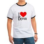 I Love Byron Ringer T