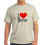 I Love Byron Light T-Shirt