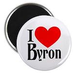 I Love Byron Magnet