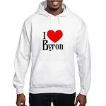 I Love Byron Hooded Sweatshirt