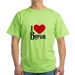 I Love Byron Green T-Shirt