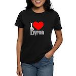 I Love Byron Women's Dark T-Shirt