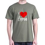 I Love Byron Dark T-Shirt
