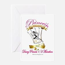 Disney Princess in training 1/2 Mara Greeting Card