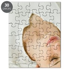 Woman getting massage Puzzle