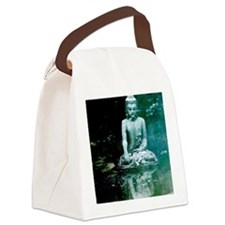 Buddha Reflection Canvas Lunch Bag