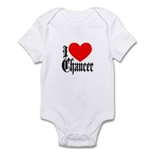 I Love Chaucer Infant Bodysuit