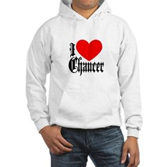 I Love Chaucer Hoodie
