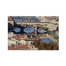 town of FLORENCE Rectangle Magnet