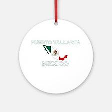 Puerto Vallarta, Mexico Ornament (Round)