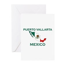 Puerto Vallarta, Mexico Greeting Cards (Package of