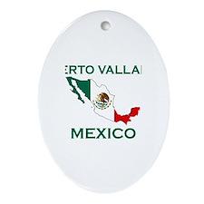 Puerto Vallarta, Mexico Oval Ornament