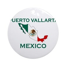 Puerto Vallarta, Mexico Ornament (Round)