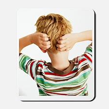 Head lice Mousepad