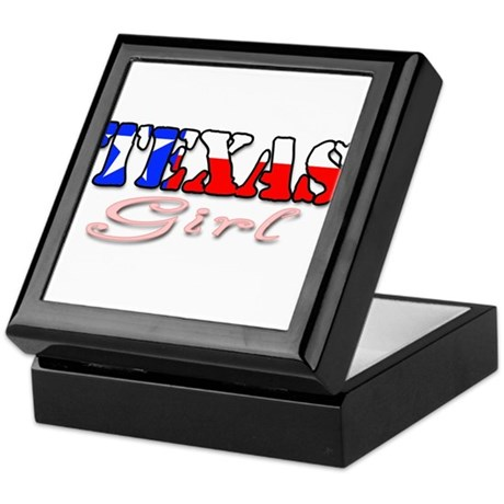 Texas Girl Keepsake Box