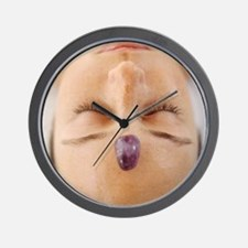 Healing crystal Wall Clock