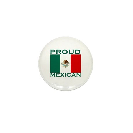Proud Mexican Mini Button