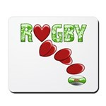 The Rugby Rush Mousepad