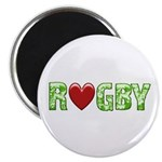 The Rugby Rush Magnet