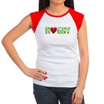 The Rugby Rush Women's Cap Sleeve T-Shirt
