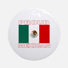Proud Mexican Ornament (Round)