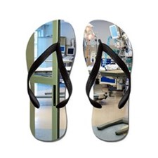 Room in intensive care unit Flip Flops